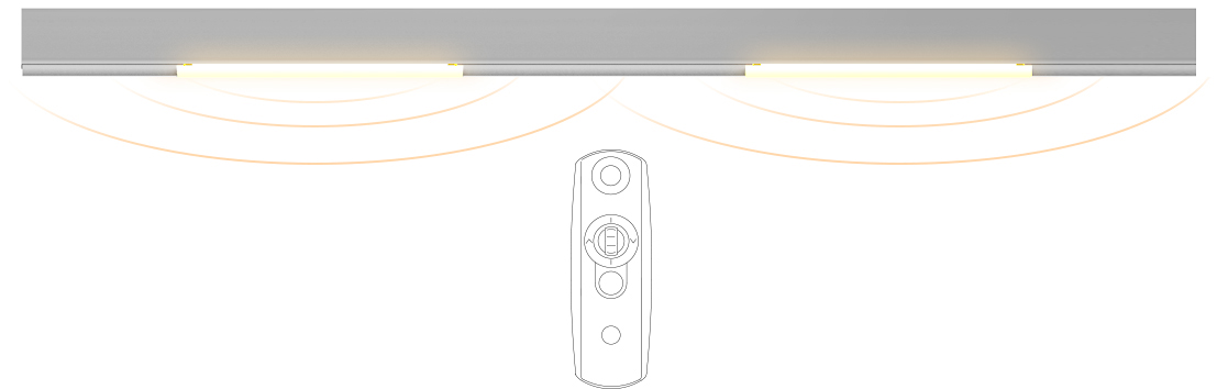 REMOTE CONTROL LED LIGHTING & DIMMER