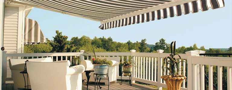 Awnings and energy efficiency